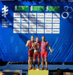 Toni Franco bronce en el acuatlón del Mundial de Edmonton 2014