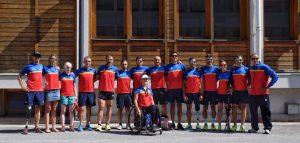 Foto de Familia de la Selección Española Paratriatlón